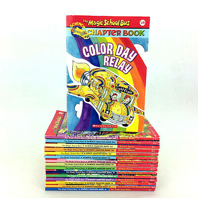 Lot 16 Magic School Bus Chapter Books Collection Kids 9-12 Science Series Set
