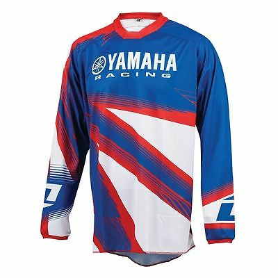 One Industries Yamaha Motocross MX ATV Jersey Blue