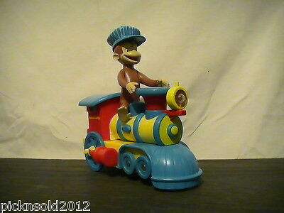 *OBO* 2006 Marvel Toys Universal Studios Curious George Train Works *OBO*