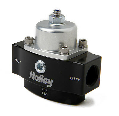 Holley 12-840 Billet Fuel Pressure Regulator 4.5-9 Psi