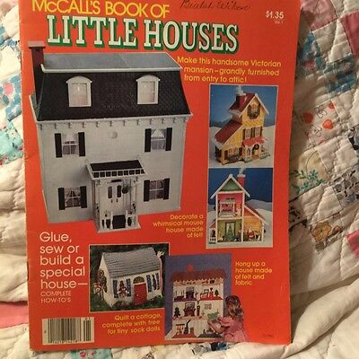 McCall's Book of Little Houses, vintage pattern book