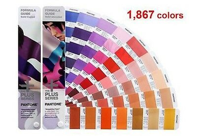 New Pantone Plus Series GP1601N Color Formula Guide Solid Coated & Uncoated