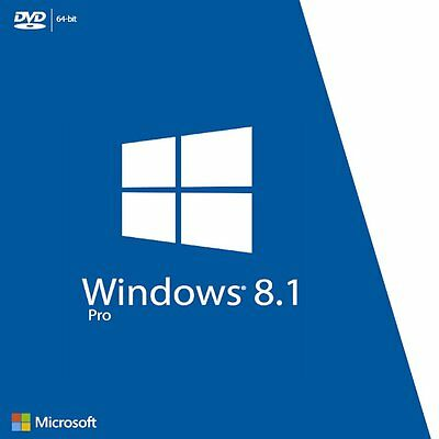 Windows 8,1 PRO Retail Key 32 64 BIT 100% Licenza DIGITAL