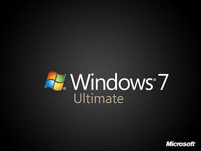 Windows 7 ULTIMATE SP1 Retail Key 32 64 BIT 100% Licenza DIGITAL