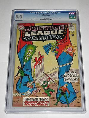 Justice League Of America #18 CGC 8.0 Perfect Centering, Vibrant Colors