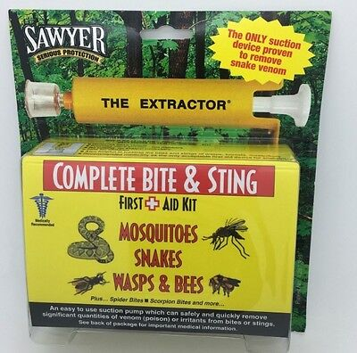 SAWYER COMPLETE VENOM EXTRACTOR FIRST AID - Combo (x4)