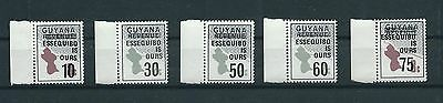 Guyana Stamps : Essequibo Is Ours  MNH SC# 336 - 340