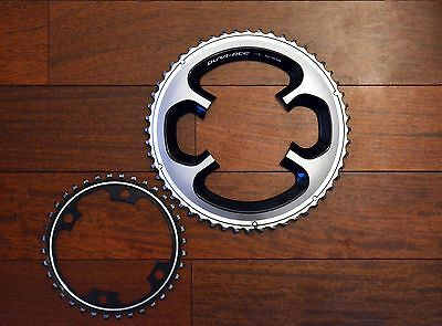 Shimano Dura Ace 9000 chainrings set - 110BCD 52-36t semi compact