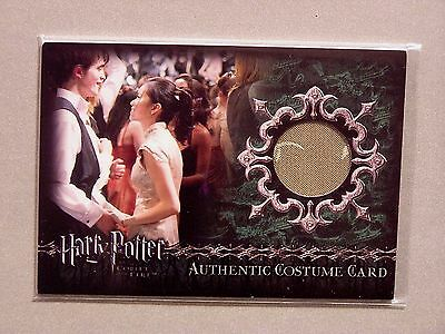 Harry Potter-GOF-Authentic-Costume Card-Katie Leung-Cho Chang-Yule Ball Dress-C2