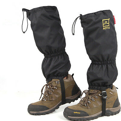 Outdoor Waterproof Gaiters Unisex Porable Snow Cover For Ski Camping Hiking T167