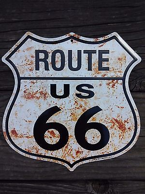 Route 66 Highway Road Sign (FREE SHIPPING)