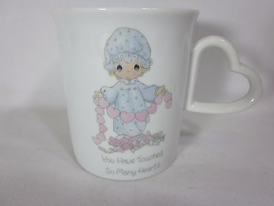 1985 Precious Moments You Have Touched So Many Hearts Mug Coffee Cup