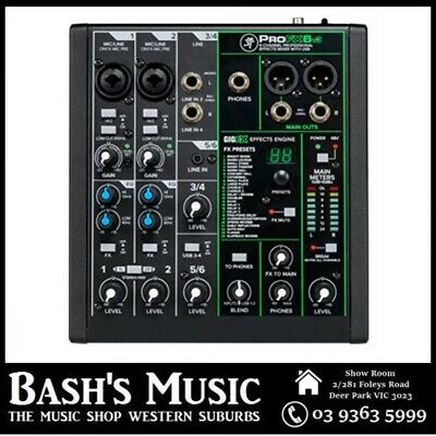 Mackie PROFX4v2 Pro Effects 4 Channel Mixer