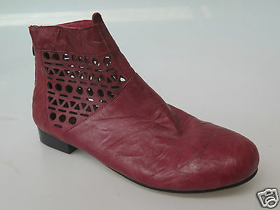 Django & Juliette - new ladies leather ankle boot size 37 #1