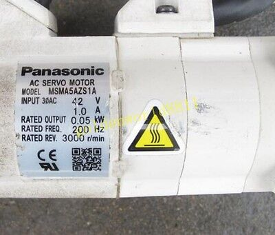 PANASONIC SERVO MOTOR MSMA5AZS1A good in condition for industry use