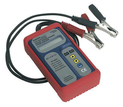 Digital Battery & Alternator Tester 6-12V Battery 6, 12, 24V Alternator From Sea