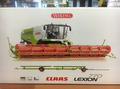 Claas Lexion 770 Wiking 07329 Scale 1/32 Combine Harvester