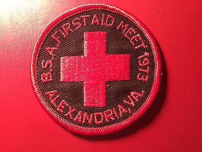 National Capital Area Council 1973 First Aid Alexandria District  (NB614)