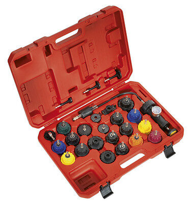 Cooling System Pressure Test Kit 25Pc From Sealey Vs0011
