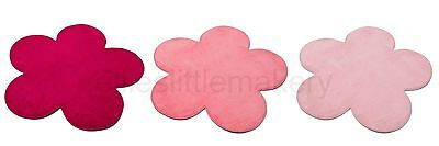 Flower Shaped Rug Mat Carpet Girls Kids Baby Children Bedroom Decor Home Nursery
