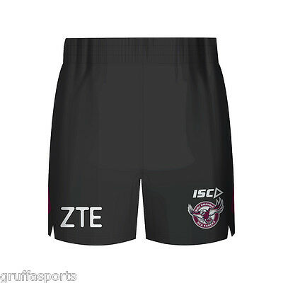 Manly Sea Eagles 2017 Training Shorts Sizes 2XL - 4XL Available NRL ISC SALE