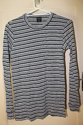 Kathmandu Striped Thermal Top Long Sleeved Size M