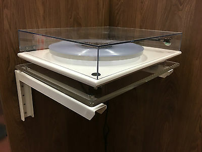Floating Turntable wall bracket mount