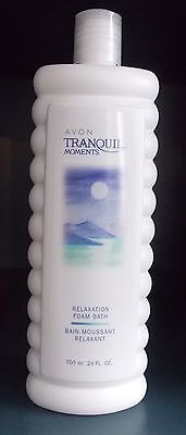 LOT OF 2  TRANQUIL MOMENTS RELAXATION FOAM BATH 700ml EACH