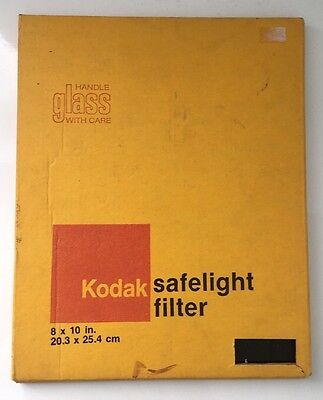 Kodak Safelight Filter OA  8 X 10 Inch