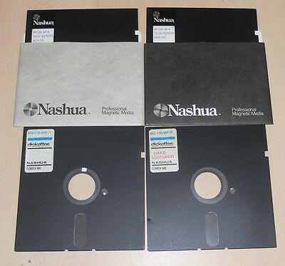 4x Hard Sector 5.25in floppy disks - UNTESTED