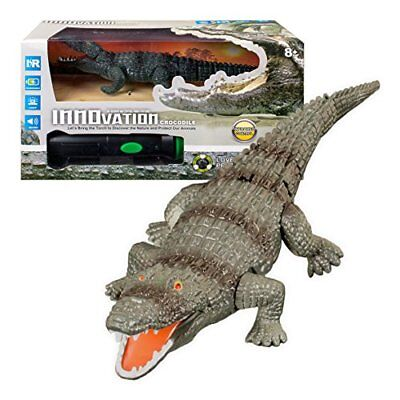 Innovation RC Crocodile Remote Controlled Toy Game for Boys or Girls
