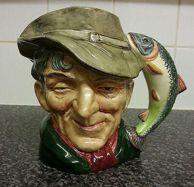 *Vintage* Royal Doulton Character Toby Jug,*  The Poacher *