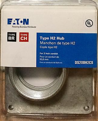 H2 Style Conduit Hub EATON DS200H2CS 2 in