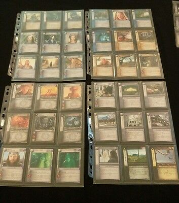 Lord of the rings tcg ccg mount doom complete set