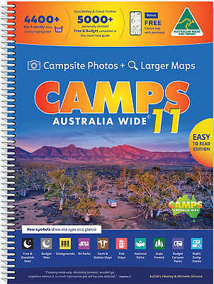 CAMPS 9 Australia Wide with Snaps new 9th edition