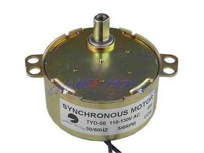 5RPM Flush Shaft Synchronous Motor for Animated Skating Pound TYD-50 AC110V CCW