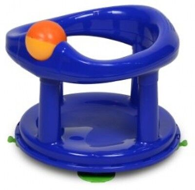 Boys Safety 1st Swivel Bath Seat Chair Infant Baby Bathing Support Seat Blue