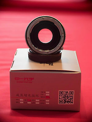 Speed booster / Lens Turbo II Nikon G - Micro 4/3 with aperture ring - mint