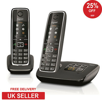 Siemens Gigaset C530A Twin DECT Cordless Phone with Answerphone