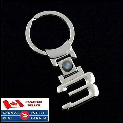 3D New Logo Metal Key Chain Ring Fob for BMW 3 Series 320 325 328 330 335 M3