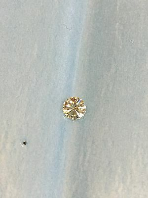 Loose Natural 0.23ct Round Brilliant Cut Diamond I VS1