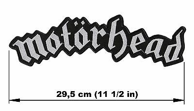 MOTORHEAD logo BACK PATCH embroidered NEW