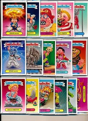 Garbage Pail Kids 2012 Magnet Card Set Of (16) From Topps