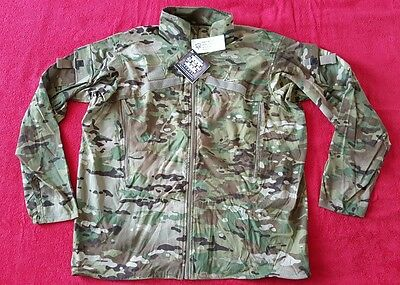 USGI ECWCS GEN III ADS US ARMY JACKET WIND COLD WEATHER MULTICAM Level 4 L-R
