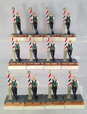 Lot of 12 The Barber Figurines - Great Christmas Gifts or Resale!