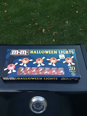 M&m's Halloween Lights Set 20 Lights Set