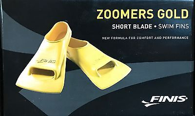 FINIS Training Fins Zoomers Gold, yellow, EUR 40-42, (US) M: 7-8.5, F: 8-9.5, 2.