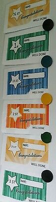 Slimming Weight loss certificates. Half stone through to Five stone.