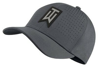 Nike Golf Mens Tiger Woods TW AeroBill Classic99 Golf Hat Grey 845579 Pick Size