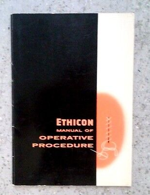 Ethicon Manual of Operative Procedures, by Ethicon Suture Laboratories